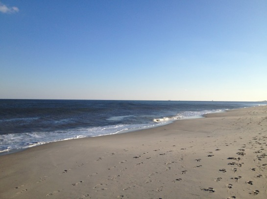 | Footprints and compressing stations haunting Bethany Beach, DE |